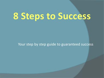 8 Steps for successful betting